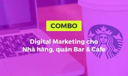 Digital Marketing cho nhà hàng quán bar & cafe
